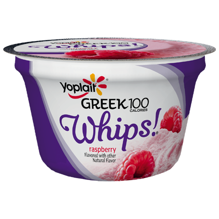 Yoplait® Greek 100 Whips!® Raspberry Yogurt