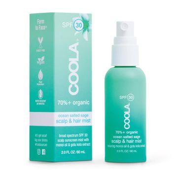 COOLA Organic Suncare Collection Scalp & Hair Mist Organic Sunscreen SPF 30