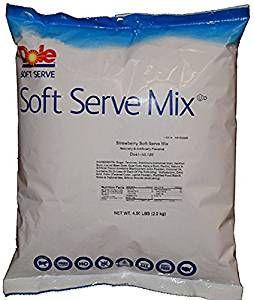 Dole Raspberry Soft Serve Mix