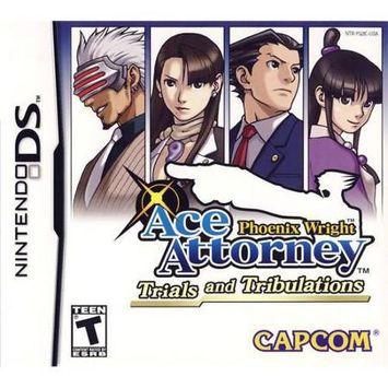 Phoenix Wright: Ace Attorney: Trials and Tribulations Nintendo DS Game CAPCOM