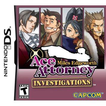 Capcom USA Ace Attorney Investigations: Miles Edgeworth (Nintendo DS)