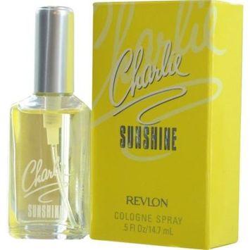 Charlie White Musk CHARLIE SUNSHINE by Revlon COLOGNE SPRAY .5 OZ
