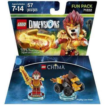 Warner Brothers LEGO Dimensions - Fun Pack - Chima Laval (71222)