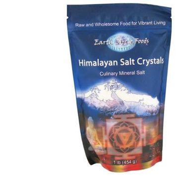 Earth Circle Organics - Himalayan Culinary Mineral Salt Crystals - 1 lb.