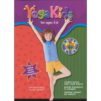 Gaiam Yoga Kids For Ages 3-6 (DVD)