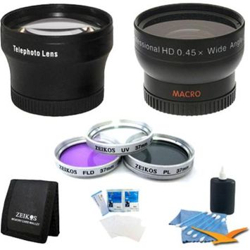 Special Pro Shooter 37mm Lens Kit for the Sony HDR-CX160 Camcorder