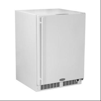 Marvel ML24RAS2RW 24 White Undercounter Built-In Compact Refrigerator - Energy Star - Right Hinge
