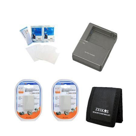 Special Power Travel kit for the Canon Rebel Eos T4I, T3I & T2I