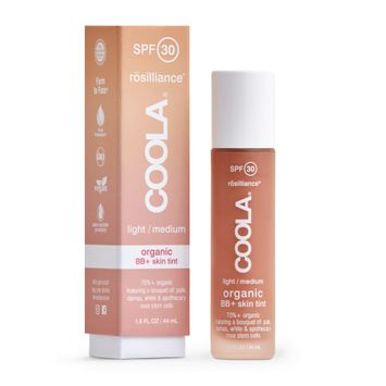 COOLA Organic Suncare Collection Rosilliance Mineral BB+ Cream Tinted Organic Sunscreen SPF 30
