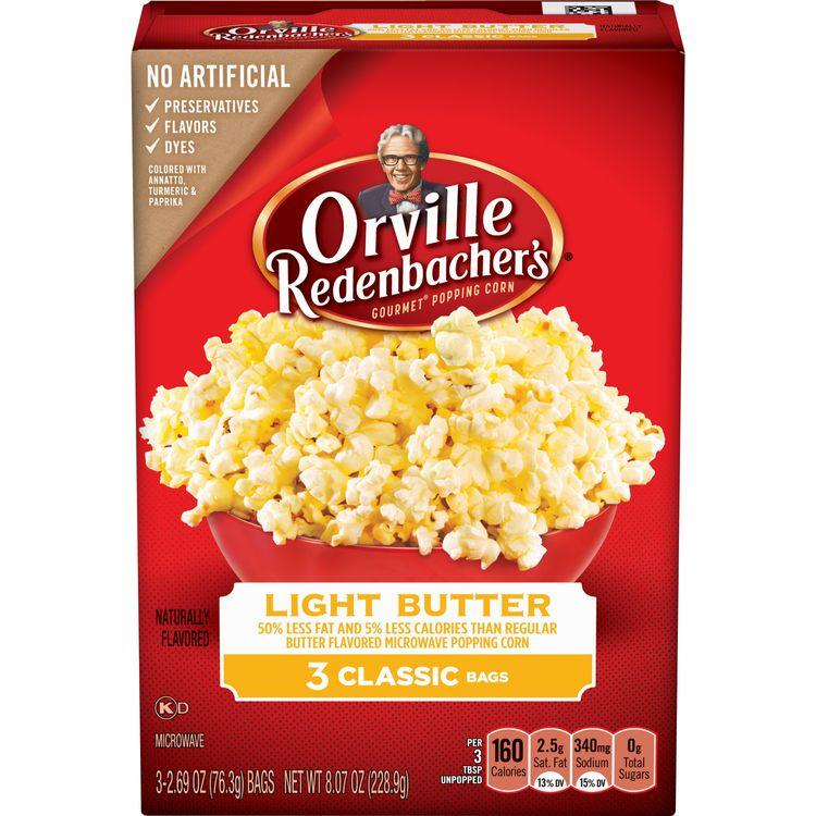 Orville Redenbacher's Gourmet Popping Corn Light Butter