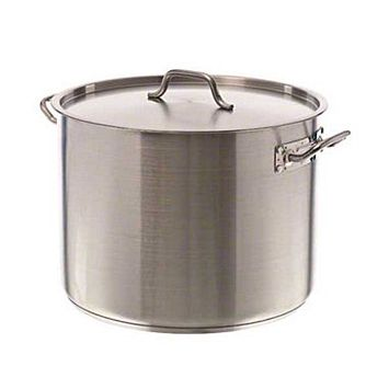Update International SPS-40 - 40 qt SuperSteel Stock Pot, with Cover