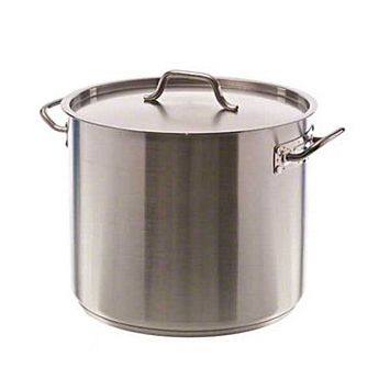 Update International SPS-32 - 32 qt SuperSteel Stock Pot, with Cover