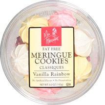 Miss Meringue Mini Vanilla Rainbow Cookies