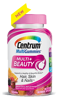 Centrum® MultiGummies® Multi + Beauty
