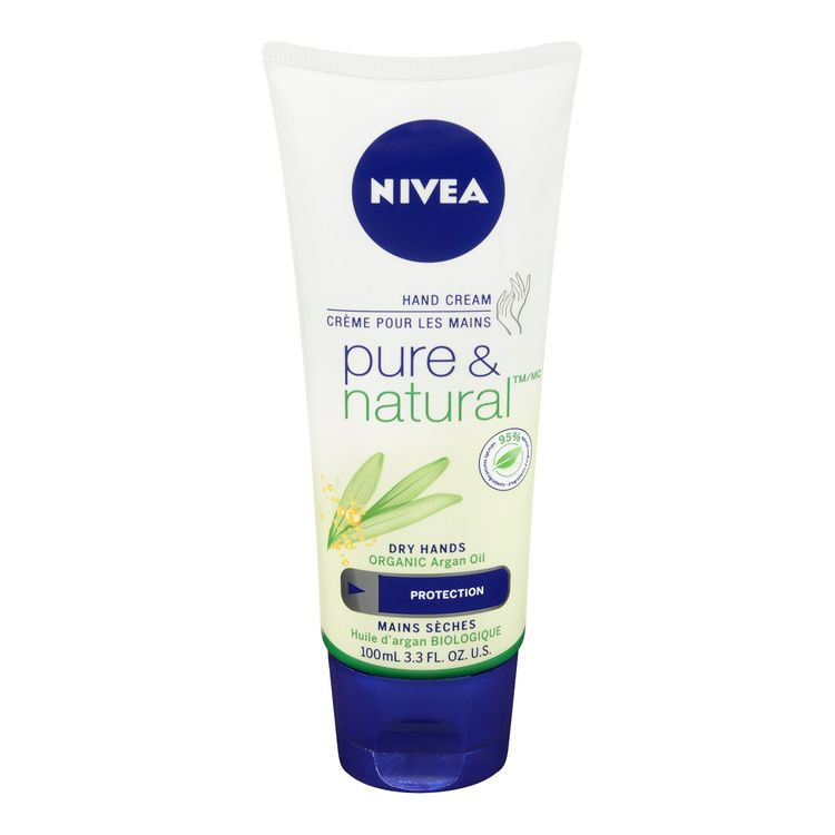 NIVEA Pure & Natural Hand Cream