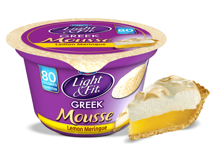 Light & Fit® Greek Lemon Meringue Nonfat Yogurt Mousse