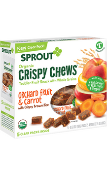 Sprout Organic Orchard Fruit & Carrot Crispy Chews