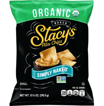 Stacy's®  Simply Naked® Organic Baked Pita Chips