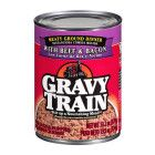 Gravy Train Meaty Ground Dinner With Beef & Bacon Wet Dog Food, 13.2-Oz