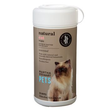 Martha Stewart Pets Unscented Hypoallergenic Cat Wipes