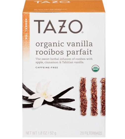 Tazo Organic Vanilla Rooibos Parfait