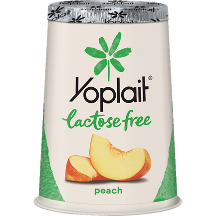 Yoplait® Lactose Free Peach Yogurt