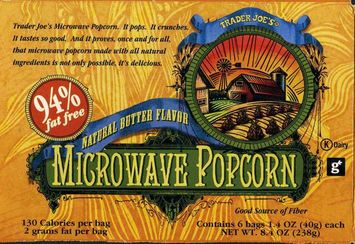 Trader Joe's Microwave Butter Popcorn