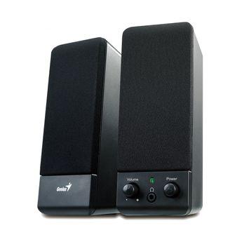 Genius SP-S110 - Speakers - for PC - 1 Watt - black