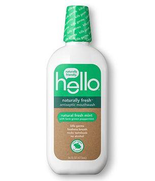 Hello naturally fresh antiseptic mouthwash