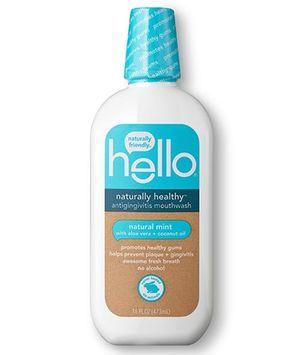 Hello naturally healthy mouthwash