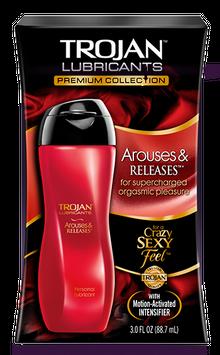 Trojan™ Lubricants Arouses & Releases 3.0oz