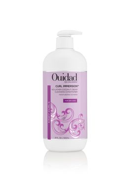Ouidad Curl Immersion™ No-Lather Coconut Cream Cleansing Conditioner 16.0oz