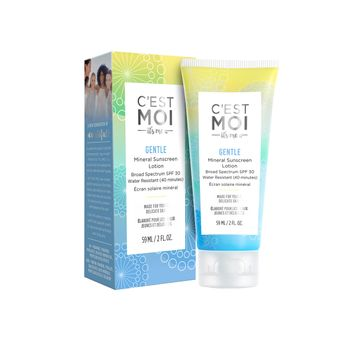 C'est Moi Gentle Mineral Sunscreen Lotion SPF 30