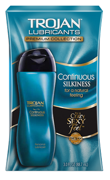 Trojan™ Lubricants Continuous Silkiness Lubricant 3.0oz