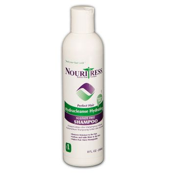 Nouritress Hydracleanse Hydrating Sulfate Free Shampoo - 8 oz.