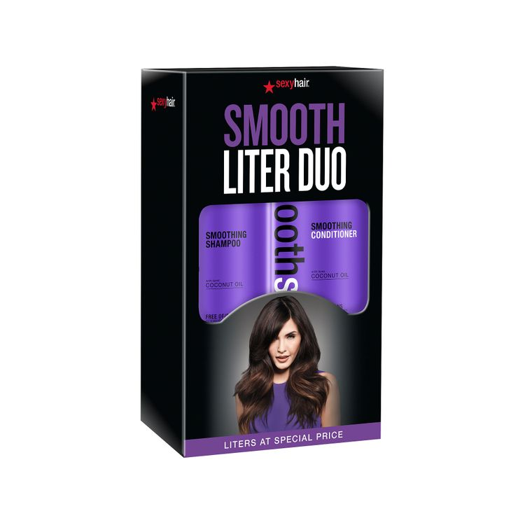 Smooth Sexy Hair Liter Duo