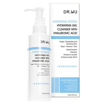 Dr.wu DR. WU HYDRATING SYSTEM Hydrating Gel Cleanser with Hyaluronic Acid 150ml