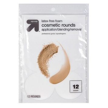 Up & Up Latex Free Cosmetic Rounds - 12ct - Up&Up