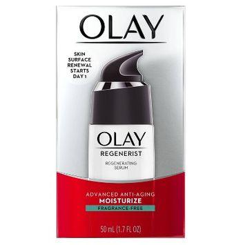 Olay Regenerist Regenerating Serum, Fragrance-Free Light Gel Face Moisturizer 0.5 fl oz