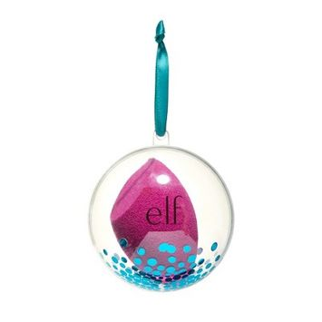 e.l.f. Holiday Total Face Sponge Ornament - Pink