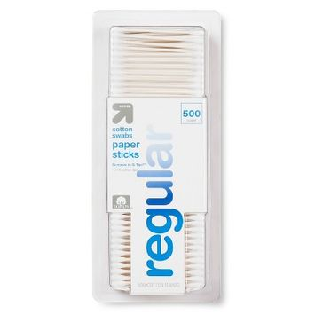 Up & Up Cotton Swabs Paper Sticks - 500ct - Up&Up