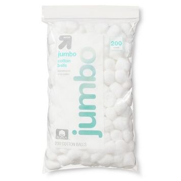 Up & Up Jumbo Cotton Balls - 200ct - Up&Up