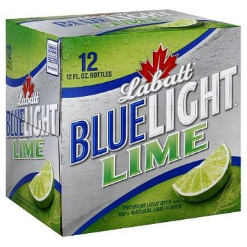 Labatt Blue Light Beer Beer Light Premium Lime