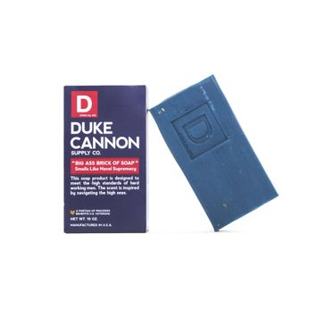 Duke Cannon Big Ass Brick of Soap - Naval Supremacy