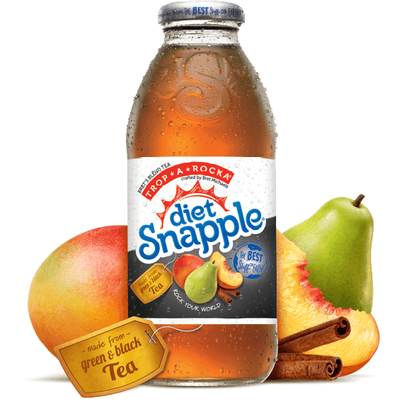 Diet Snapple Trop-a-Rocka Tea