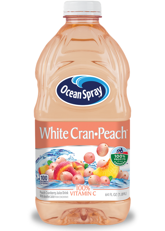 White Cran-Peach™ White Cranberry and Peach Juice Drink