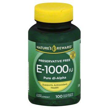 Nature's Reward Vitamin E 1000Iu 100 ct