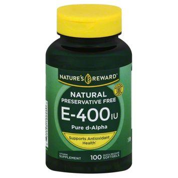 Nature's Reward Vitamin E 400 Iu D-Alpha 100 ct