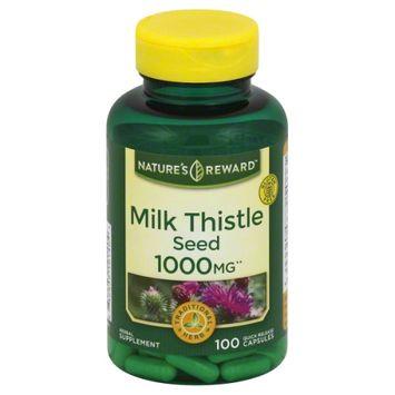 Nature's Reward Milk Thistle 1000MG 100 ct