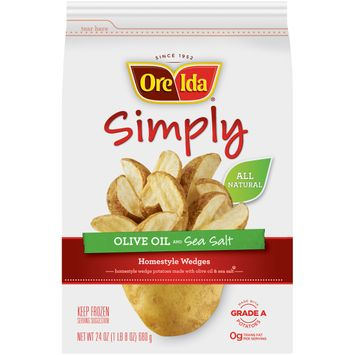 Ore-Ida Simply Olive Oil & Sea Salt Home-Style Wedges